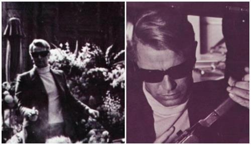 Η μοναδική εμφάνιση του σε ταινία με ξανθό μαλλί